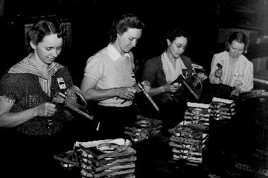 Ladies on a Factory Line Creating the WEBSTER™ Hardness Tester